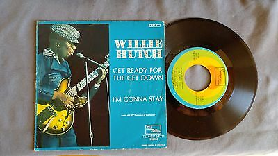 Willie Hutch - Get Ready For The Get Down - 45 Giri 7''