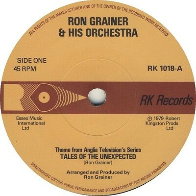 RON GRAINER - TALES OF THE UNEXPECTED / PAUL TEMPLE  - TV Series Theme - RK1018