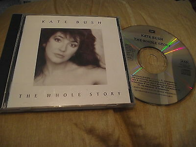 Kate Bush The Whole Story Cd Best Of Hits Babooshka Wow Hounds Of Love Breathing