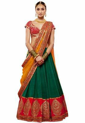 wedding party wear lehenga Designer Indian Latest Bollywood lengha choli set_A20