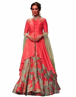 wedding party wear lehenga Designer Indian Bridal Bollywood lengha choli set_A21