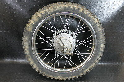 GILERA 50 5V Trial ruota rear wheel rim hob tire
