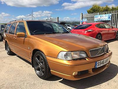 1998 Volvo V70 R Auto Estate In Saffron, Without A Doubt A Future Investment