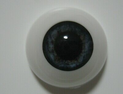 Reborn doll eyes 22mm Half Round  NEWBORN BLUE