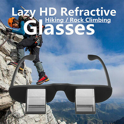 New Lazy Refractive Glasses Climbing Goggles Prism Spectacles For Watching TV
