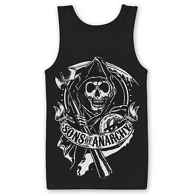 """Sons of Anarchy Tank Top """"SCROLL REAPER"""""""
