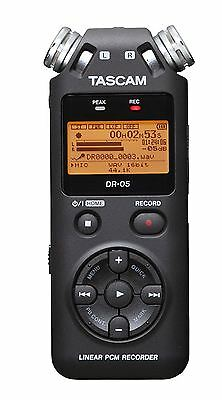 TASCAM DR-05 Version 2 Linear PCM Portable Recorder