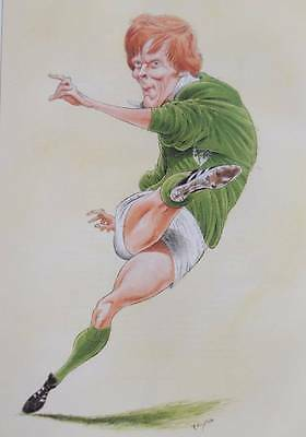 OLLIE CAMPBELL - John Ireland   Characters Rugby