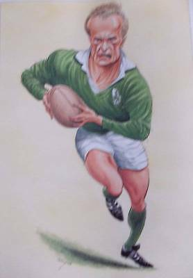 John Ireland Rugby Characters - Mike Gibson