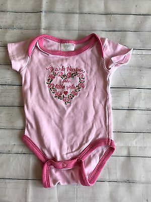Baby Girls Clothes 0-3 Months - Cute Girl  Vest Top Bodysuit