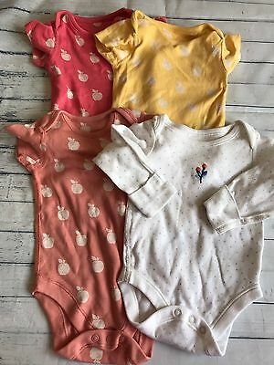 Baby Girls Clothes Bundle 3-6 Months - Cute  Babygrows / Vests Tops