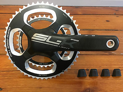 FSA SLK SL-K Light Carbon Crankset BB386EVO 172.5mm 52/36