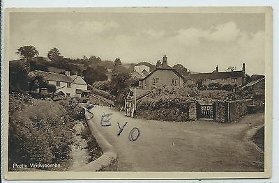 "SOMERSET - ""PRETTY WITHYCOMBE"" near MINEHEAD Postcard"
