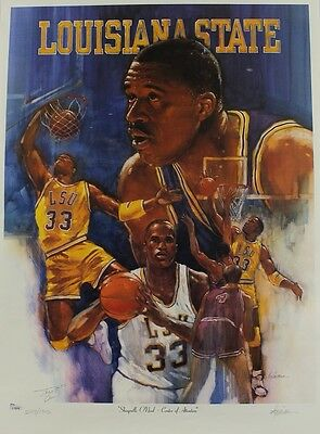 Shaquille O'neal Signed Lithograph