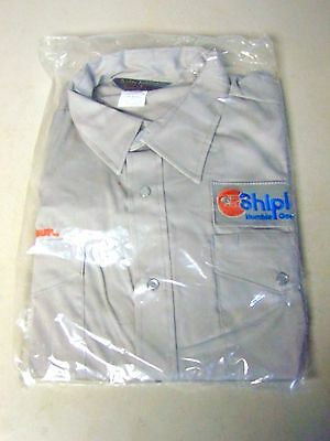 Vintage Shipley Humble Goodling Oil Uniform Shirt XL 33 SEALED BAG Glenn FREE SH