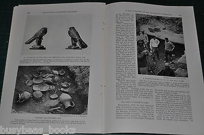 1930 magazine article Archeological excavations, SYRIA, Alawite Alaouite