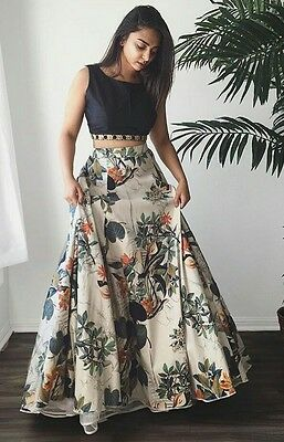 Indian wedding party wear Bollywood Designer lehenga Bridal lengha choli set_A30