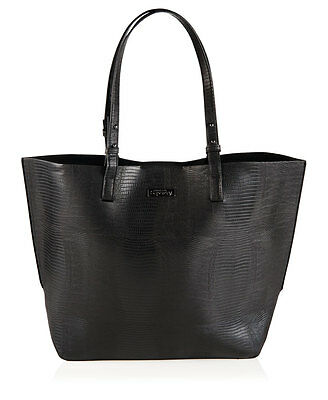 New Womens Superdry Olivia Tote Bag Black