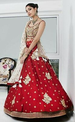 wedding Designer Indian party wear Bollywood lehenga Bridal lengha choli set_A32