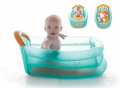 Brand new in gift box Jane 3 position inflatable bath in aqua holds 30 litres