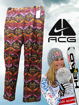 Nike Womens Ladies ACG Pendleton Ski Snowboard Pants Trousers Large AUTHENTIC