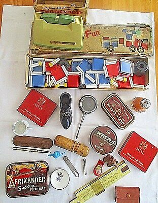 Job Lot Of True Vintage Collectables