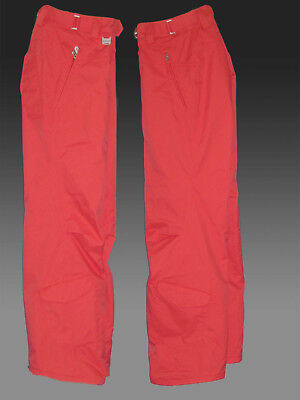 Nike Womens 6.0 Prieka SNOWBOARD SKI SNOW Trousers Pants Orange XS AUTHENTIC
