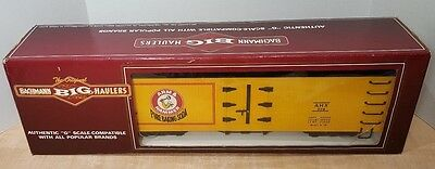 Bachmann Big Haulers G Scale Arm & Hammer Box Car