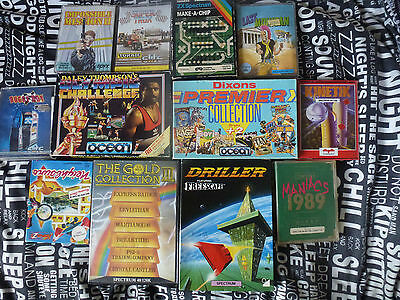 12x Sinclair Zx Spectrum  BOXED Games
