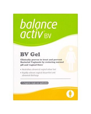 Balance Activ BV Vaginal Gel to Treat and Prevent Bacterial Vaginosis 7x5ml