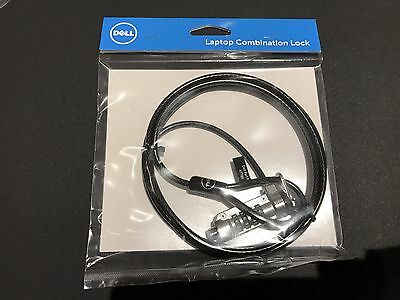 New Dell Combination Lock (Kensington Cable Lock) for Laptop (077PV4)