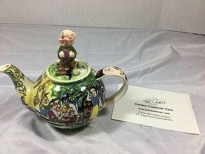 Paul Cardew Snow White & The Seven Dwarfs Betty Teapot Limited Edition Euc