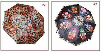 Pretty Russian Nesting Dolls Themed Automatic Umbrella/2 Designs Available