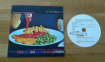 """Jesus & Mary Chain Cracking Up 1998 UK 7"""" Creation CRE292 Alt Indie Rock"""