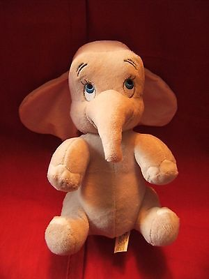 "Disney land Paris  ""  dumbo ""  cuddly soft  toy 11"" VGC"