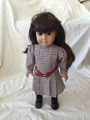 American Girl Doll Samantha (Brown Hair, Brown Eyes) With Original Outfit