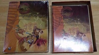 AD&D Dark Sun Campaign Setting Expanded Revised Box Set 1995 TSR 2438 D&D Module