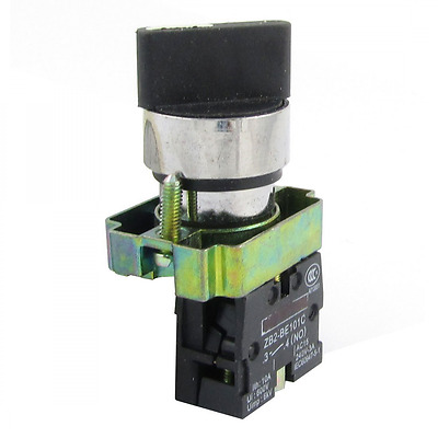Panel Mounting 2 Position Selector Locking Rotary Switch Ui600V Ith10A SPST