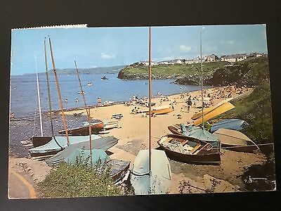 used postcard ABERPORTH CARDINGANSHIRE posted in 1971