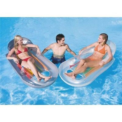 Pool Beach Inflatable Swimming Pool Lounger Reclining Floating Designer Fashion