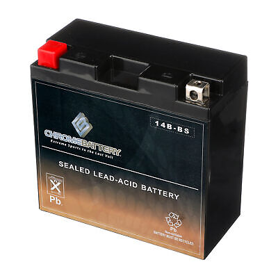 YT14B-BS Motorcycle Battery for Yamaha 1100cc XVS1100 V-Star All 1999-2010