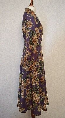 Vintage floral skirt/blouse suit 1930/1940's look size 8 by Chanelle