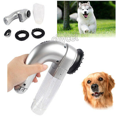 Cordless Pet Dog Cat Shed Pal Vac Hair Remover Grooming Vacuum Fur Cleaner