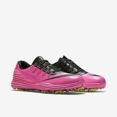 Nike Women's Lunar Control 4 Golf Shoes 819034 Pink Black, SIZE 8