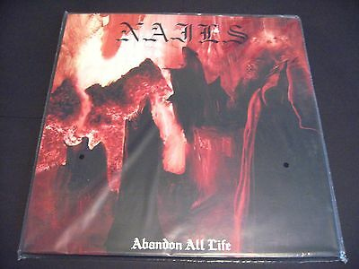 Nails Abandon All Life LP in a gatefold sleeve