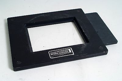 Professional Photo Products 4x5 Speed Carrier Negative Carrier. (086)