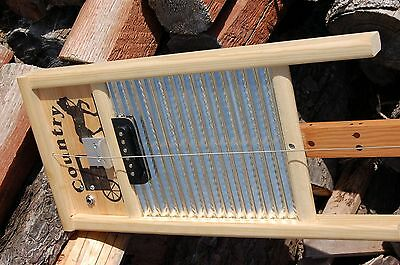 Electric Washboard Diddly Bow