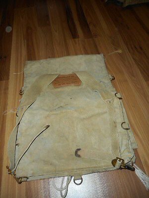 Vintage Boy Scouts of America Cotton Canvas Backpack / Bag