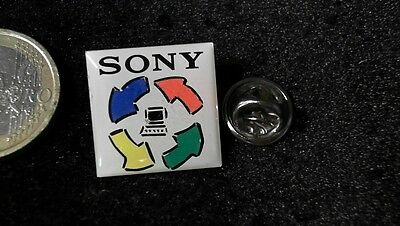 Sony Pin Badge Monitor Recycle