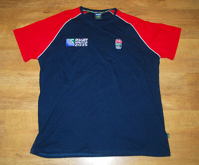 Official Licenced England Rugby World Cup 2015 Shirt (Size 2XL)
